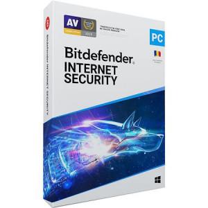 Bitdefender Internet Security 2021, 3 dispozitive, 1 an - Licenta Electronica