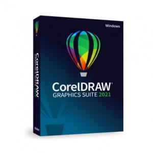 CorelDRAW Graphics Suite 2021 Windows - BOX, DVD
