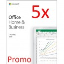 Microsoft Office Home and Business 2019 PC/MAC, All languages, FPP, BOX - 5 licente