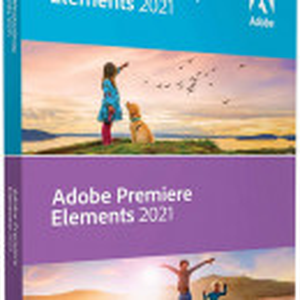 Adobe Photoshop Elements 2021 & Premiere Elements 2021 ENG Win / Mac - DVD