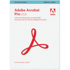 Adobe Acrobat DC Professional 2020 Windows/Mac, EDU, permanenta