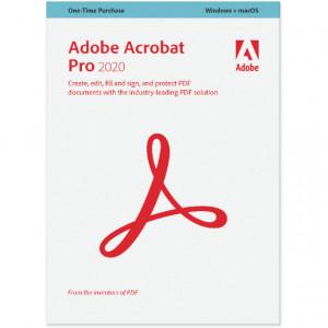 Adobe Acrobat DC Professional 2020, Windows/Mac, licenta educationala, 1 utilizator