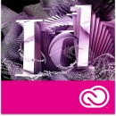 Adobe InDesign CC, Engleza, Windows/Mac, subscriptie anuala
