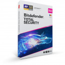 Bitdefender Total Security 2021, 10 dispozitive, 1 an - Licenta Electronica