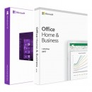 Windows 10 Pro OEM DVD + Microsoft Office 2019 Home and Business FPP BOX