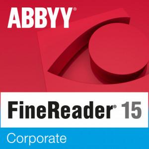 ABBYY FineReader 15 Corporate Educationala ESD