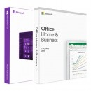 Windows 10 Pro OEM DVD & Microsoft Office 2019 Home and Business FPP BOX