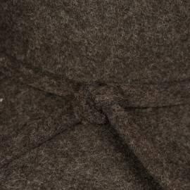 Poze Palarie evantai, culoare gri inchis