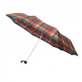 Poze Umbrela cu model cadrilat pe rosu