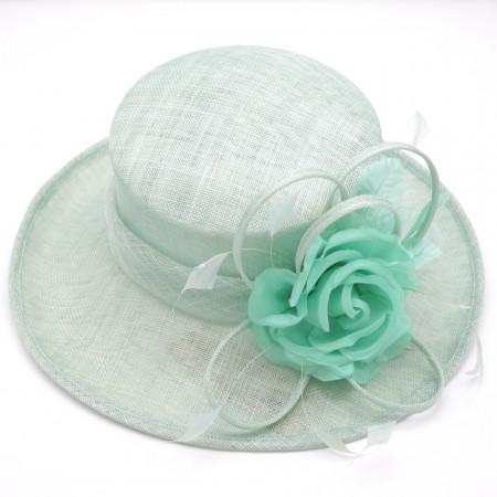 Poze Pălărie elegantă ,culoarea bleu
