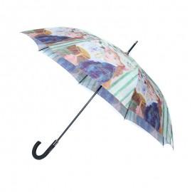 Poze Umbrela cu model portret artistic