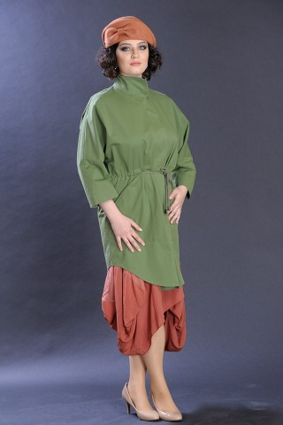 Blazer verde lejer de primavara, marime universala