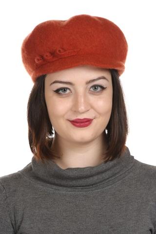 Sapca din lana,portocaliu.Alura feminina.