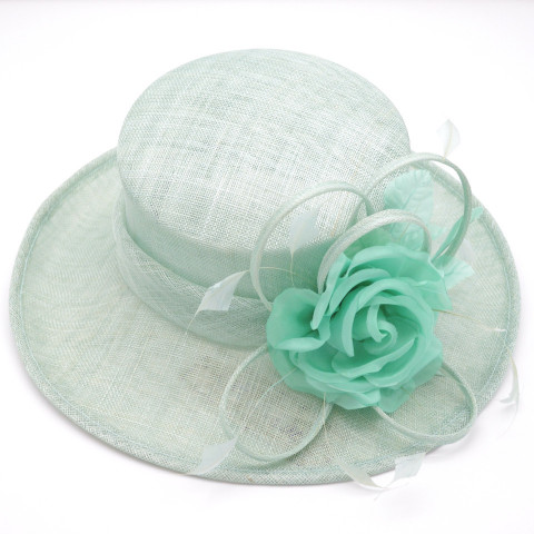 Pălărie elegantă ,culoarea bleu
