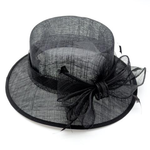 Pălărie elegantă din fibră naturală