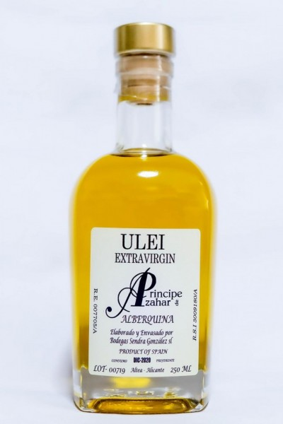 Ulei de masline ExtraVirgin Arbequina - Produs gourmet Principe de Azahar Spania