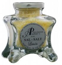 Sare de mare naturală lămâie lux 150gr - produs gourmet Principe de Azahar Spania