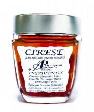 Cirese confiate cu vin de portocale 350g - Produs gourmet Principe de Azahar Spania