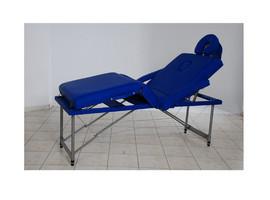 Poze Masa masaj plianta - 4 sectiuni Aluminiu Albastru