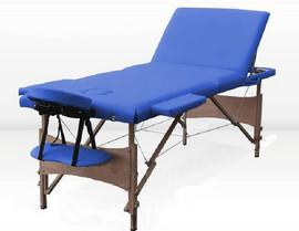 Poze Masa masaj plianta -Lemn 3 Albastru
