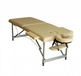 Poze Pat masaj 2 sectiuni - - masa masaj - structura Aluminiu Crem