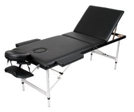Poze Masa masaj plianta - Aluminiu 3 Negru