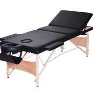 Masa masaj plianta - Lemn 3 Negru