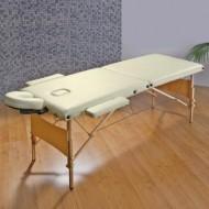 Masa masaj 2 sectiuni - Pliabila si portabila