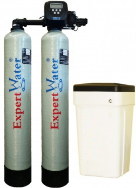 Sistem Duplex Alternat pentru Dedurizarea apei Expert Water 2 x 20 L - Clack SUA