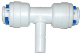Conector 6mm IN-IN-OUT (T)