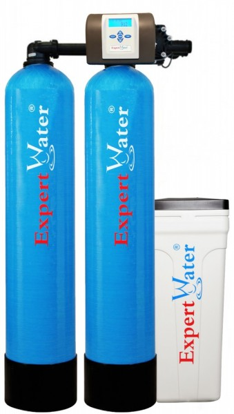 Sistem Duplex Alternat pentru Dedurizarea apei Expert Water 2 x 140 L - Vana Expert
