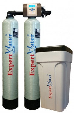 Sistem Duplex Alternat pentru Dedurizarea apei Expert Water 2 x 20 L - Vana Expert
