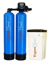 Sistem Duplex Alternat pentru Dedurizarea apei Expert Water 2 x 130 L - Clack SUA
