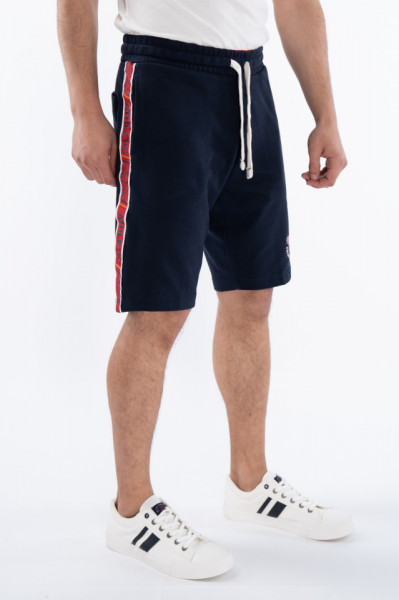 KVL - Bermude jogging cu detalii in lateral si buzunare