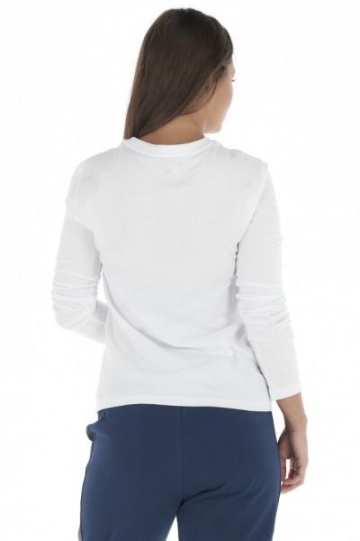 KVL - Bluza dama cu maneca lunga din bumbac cu imprimeu