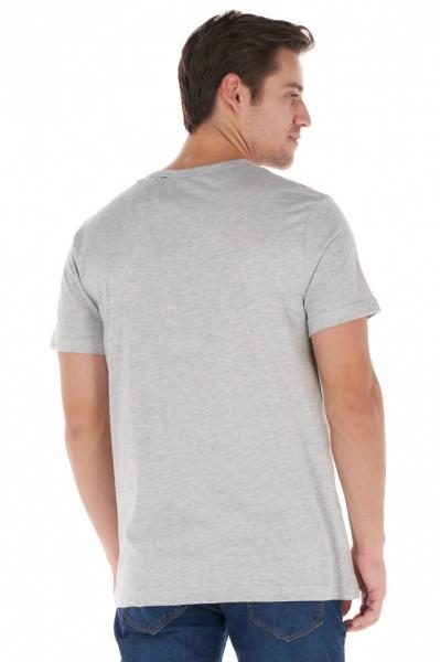 KVL - Tricou barbat cu maneca scurta si imprimeu