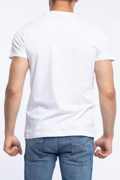 Lee Cooper - Tricou barbat cu maneca scurta si imprimeu grafic