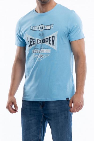 Lee Cooper - Tricou barbat cu maneca scurta si imprimeu