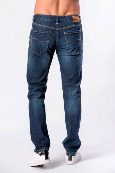 PANTALONI DENIM LUNGI BARBAT DARK BLUE LEE COOPER
