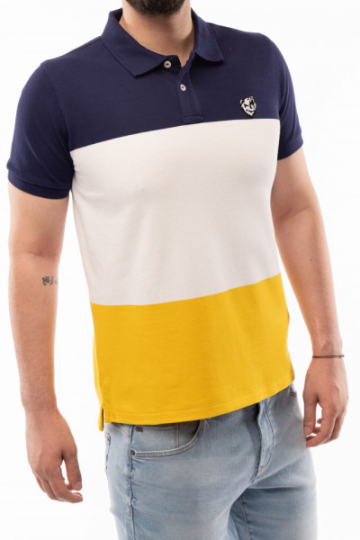 Timeout - Tricou barbat tip polo in 3 culori