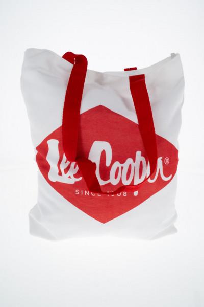 Lee Cooper - Geanta dama cu capsa si imprimeu logo