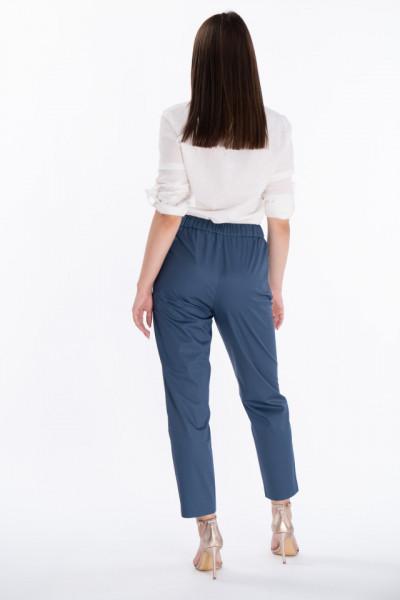 Lee Cooper - Pantaloni crop cu buzunare oblice si cordon pentru ajustare