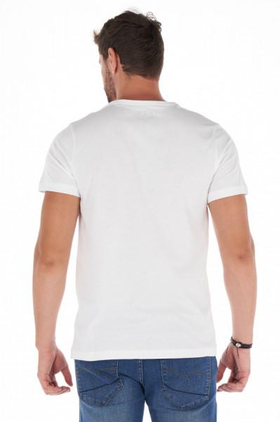 Lee Cooper - Tricou barbat cu maneca scurta si model imprimat