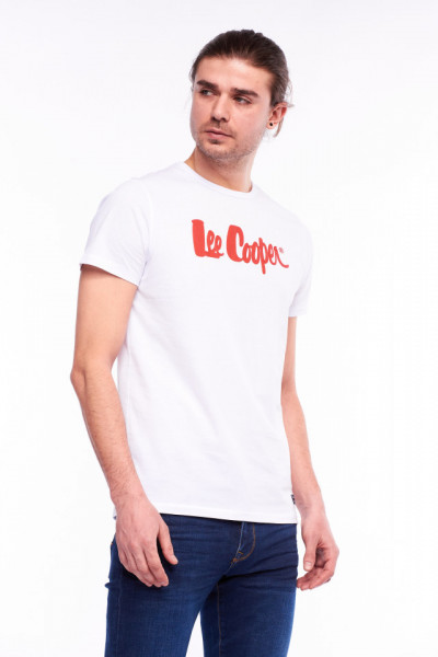 Lee Cooper - Tricou din bumbac cu logo