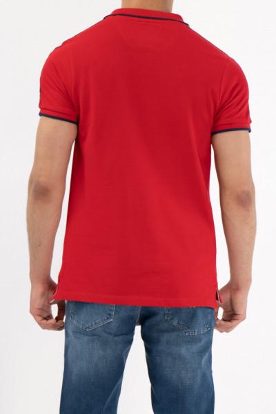 Lee Cooper - Tricou tip polo cu detalii logo
