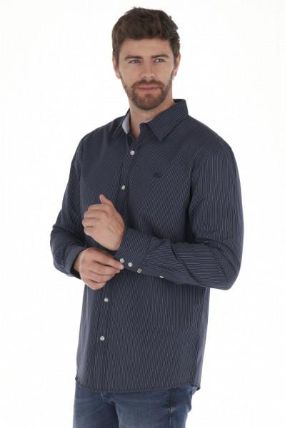 Timeout - Camasa barbat regular fit cu model in dungi