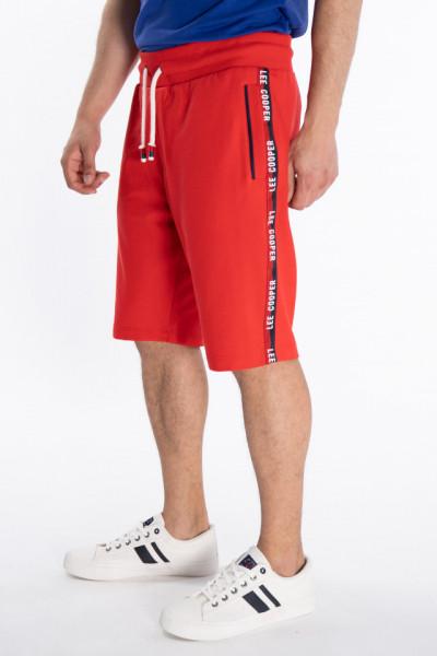 Lee Cooper - Bermude jogging cu buzunare si banda logo in lateral