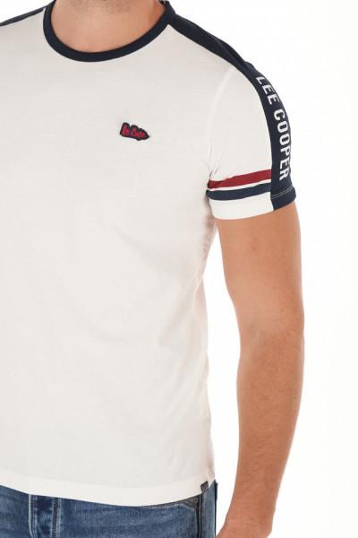 Lee Cooper - Tricou barbat cu maneca scurta si detalii logo