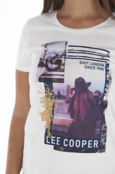 Lee Cooper - Tricou dama cu imagine imprimata