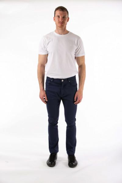 Montecristo - Pantaloni lungi slim fit culoare indigo